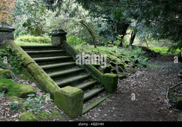 Delightful Stock Photo Of Stone Steps In A Garden   Stock Image