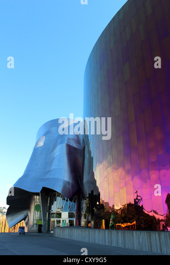 EMP Museum, Experience Music Project And Science Fiction Museum, Seattle  Washington, USA