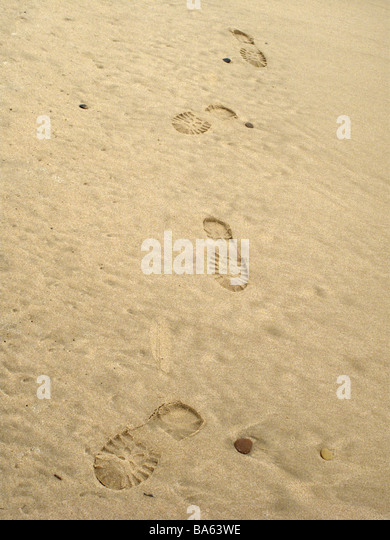 Boot Print In Sand Stock Photos & Boot Print In Sand Stock ...