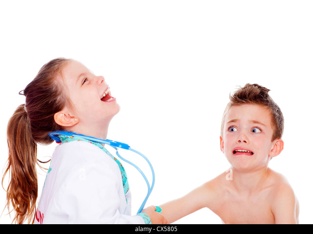 Dress Up And Boy And Girl Doctor Stock Photos &amp Dress Up And Boy ...