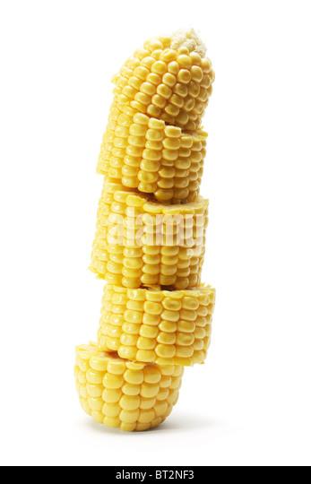how to cut corn cob