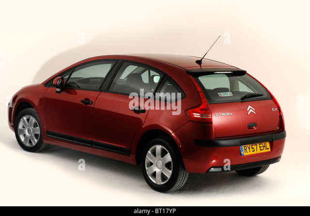 citroen c4 red stock photos citroen c4 red stock images alamy. Black Bedroom Furniture Sets. Home Design Ideas