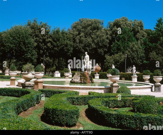Geography Travel Italy Rome Garden Stock Photos
