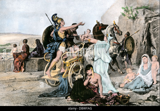 the heroism of hector and achilles in homers the iliad The iliad tells of a hero and his struggle to attain everlasting the iliad by homer essay sample pages hector kills patroclus, achilles kills hector.