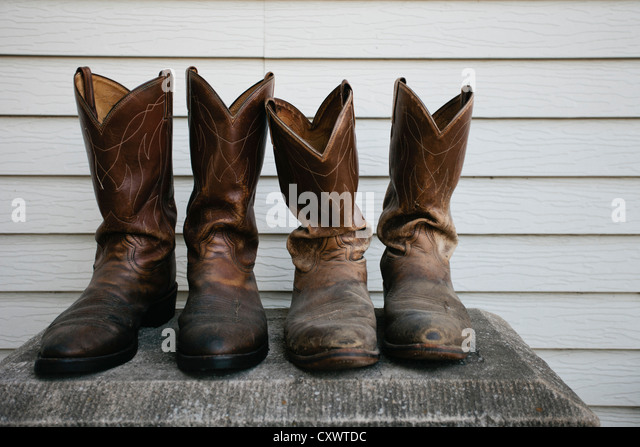 Close Up Cowboy Boots Stock Photos & Close Up Cowboy Boots Stock ...