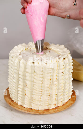 Professional Cake Decorating Frosting Recipe : Professional Frosting Stock Photos & Professional Frosting ...
