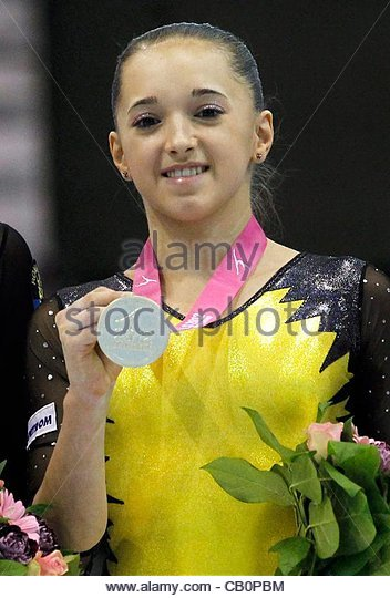 Download preview image - epa03217499-gold-medalist-romanian-larisa-andreea-iordache-stands-cb0pbm