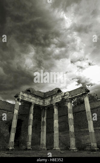 Ancient Roman Villa Stock Photos Amp Ancient Roman Villa