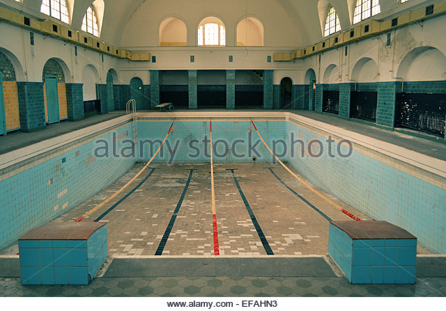 Old Swimming Pool : Empty abandoned swimming pool old stock photos