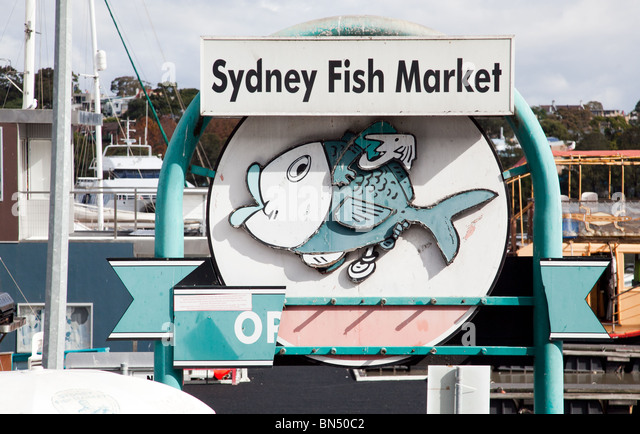 Old Fish Market Sign Stock Photos & Old Fish Market Sign Stock Images - Alamy