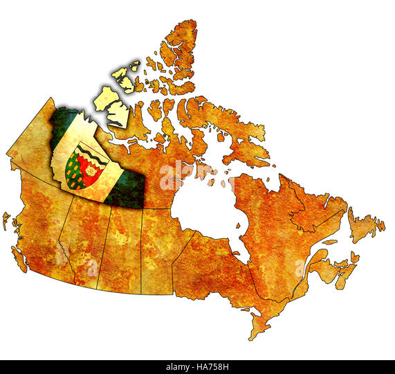 Canada Map Territories Stock Photos  Canada Map Territories Stock