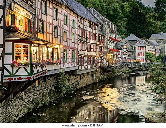 Monschau stock photos monschau stock images alamy for Spa hotel eifel germany