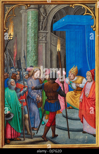 joseph caiaphas According to josephus (antiquitates, xviii, iv, 3), caiphas was appointed high-priest of the jews by the roman procurator valerius gratus, the predecessor of pontius pilate, about ad 18 (ant, xviii, ii, 2), and removed from that office by the procurator vitellius, shortly after he took charge of affairs in palestine, ad 36 (ant, xviii, iv, 3) ) during this period the famous annas.