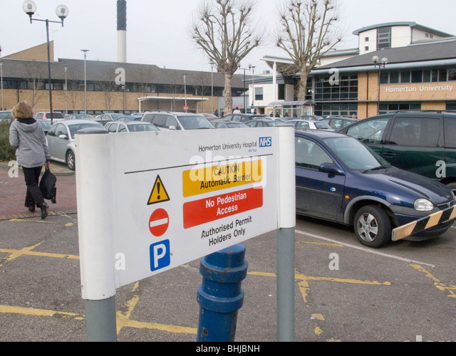 Homerton Hospital Car Parking