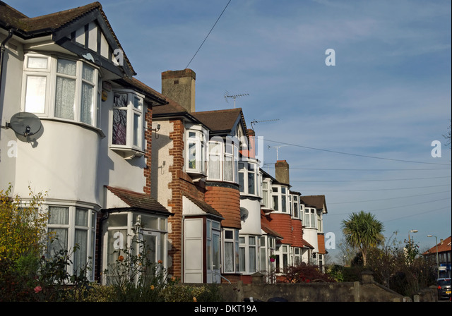1930s house building uk stock photos 1930s house for 1930s bay window construction