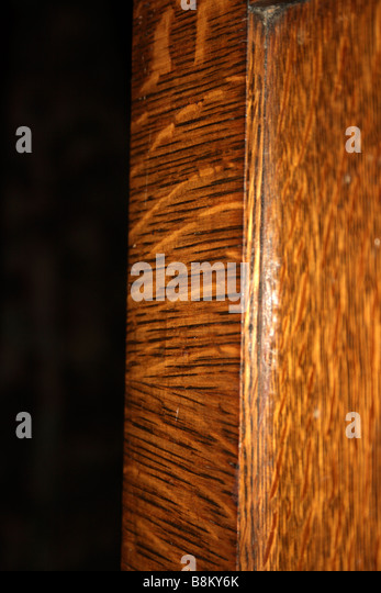 tiger striped oak veneer patterns ca 1890s or later stock image