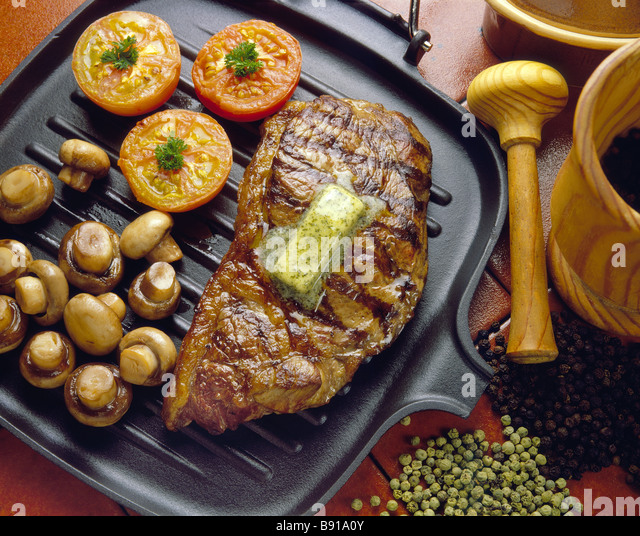 how to cook steak on a griddle pan
