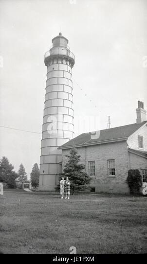 Cana Island Light House To Canada