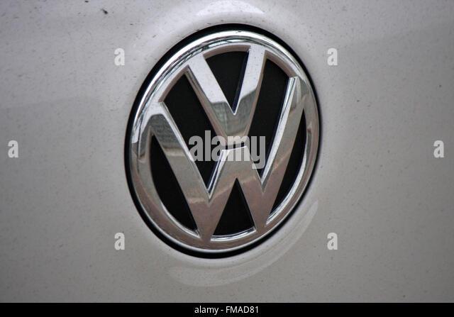 vw logo stock photos vw logo stock images alamy. Black Bedroom Furniture Sets. Home Design Ideas