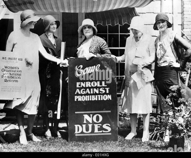 prohibition of alcohol Prohibition: prohibition, legal prevention of the manufacture, sale, and  transportation of alcoholic beverages in the united states from 1920 to 1933.