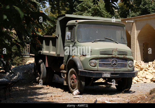 Old mercedes truck stock photos old mercedes truck stock for Old mercedes benz trucks