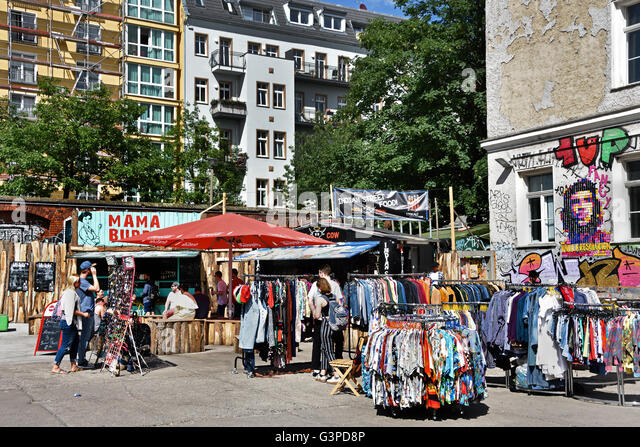 friedrichshain market berlin stock photos friedrichshain market berlin stock images alamy. Black Bedroom Furniture Sets. Home Design Ideas