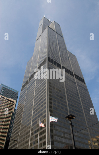 Willis Tower Formerly Sears Tower Stock Photos Willis