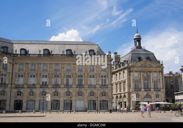 Bordeaux architecture stock photos bordeaux architecture for W architecture bordeaux