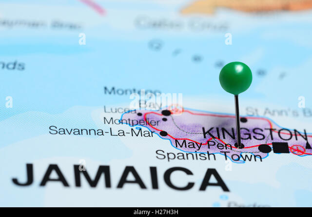 Map Of Jamaica Stock Photos  Map Of Jamaica Stock Images  Alamy