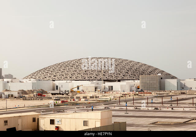 The louvre abu dhabi stock photos the louvre abu dhabi stock images a - Construction of the louvre ...