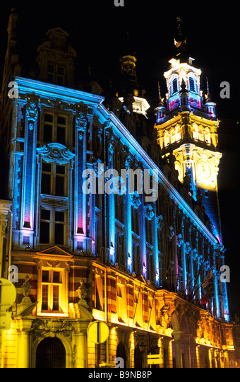 Vieux lille district stock photos vieux lille district for Chamber of commerce france