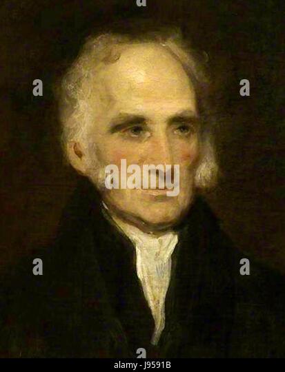 Sir Gilbert Blane by Martin Archer Shee - Stock Image