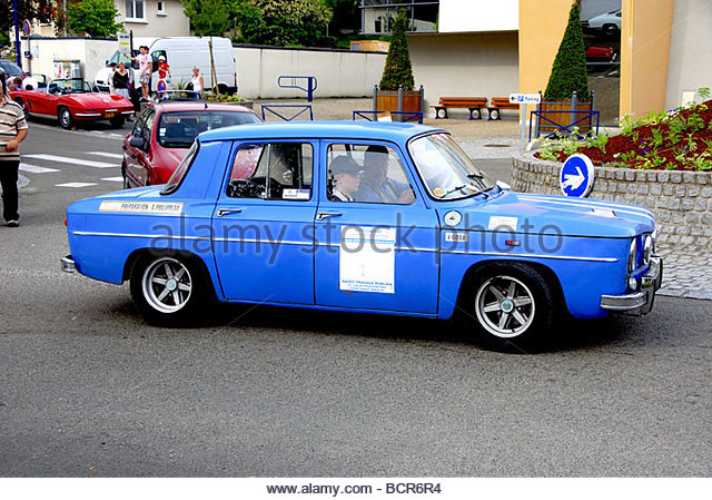 renault r8 gordini stock photos renault r8 gordini stock images alamy. Black Bedroom Furniture Sets. Home Design Ideas