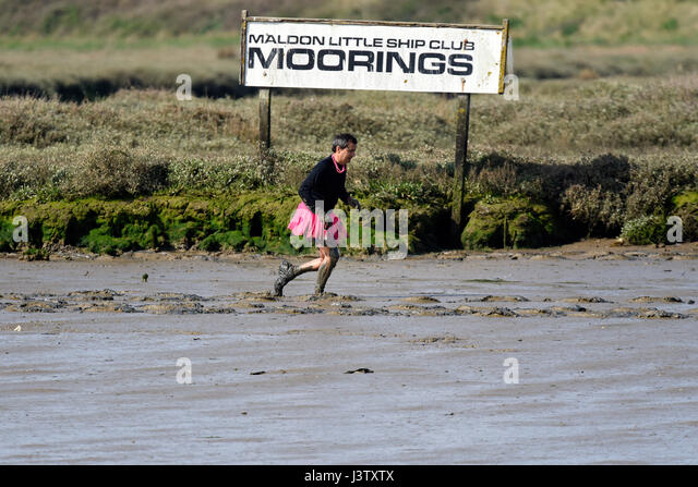 Mud Race Runner Stock Photos Mud Race Runner Stock Images Alamy