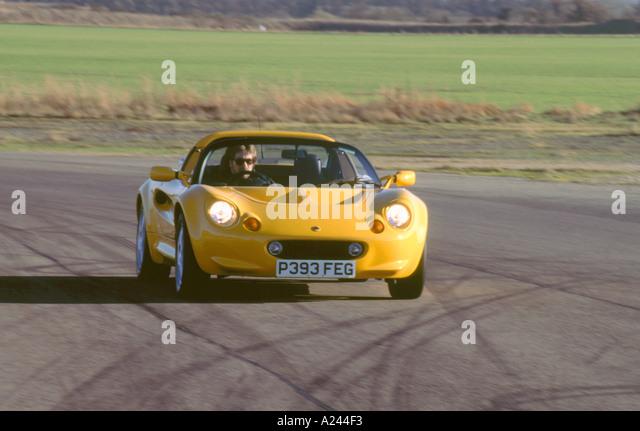 1996 lotus elise stock image
