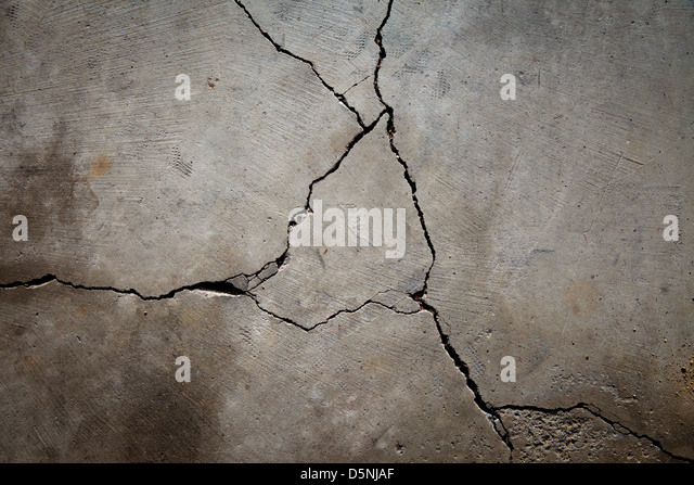 Crumbling rock stock photos crumbling rock stock images for Crumbling concrete floor
