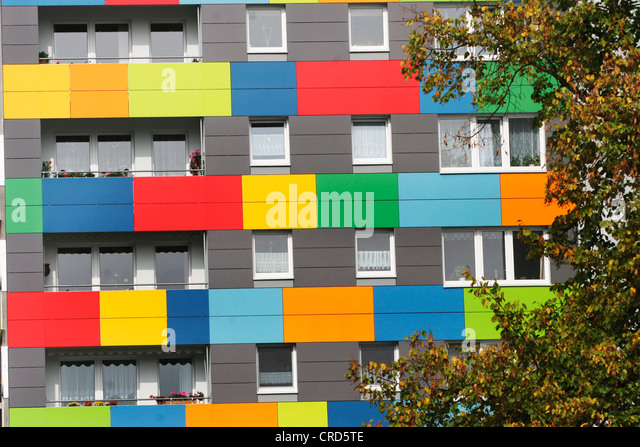 block house colour stock photos block house colour stock images alamy. Black Bedroom Furniture Sets. Home Design Ideas