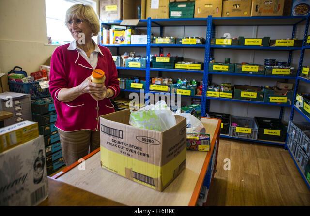 Brentwood Food Bank Volunteer