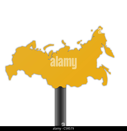 Russian Map Stock Photos Russian Map Stock Images Alamy - Russian federation map