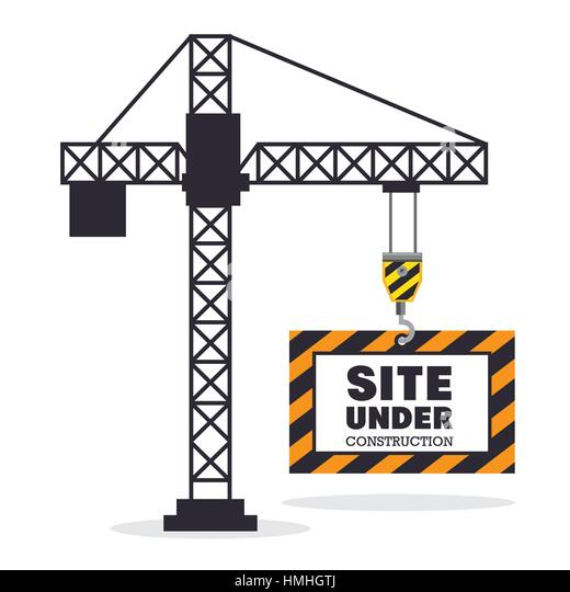 House under construction vector