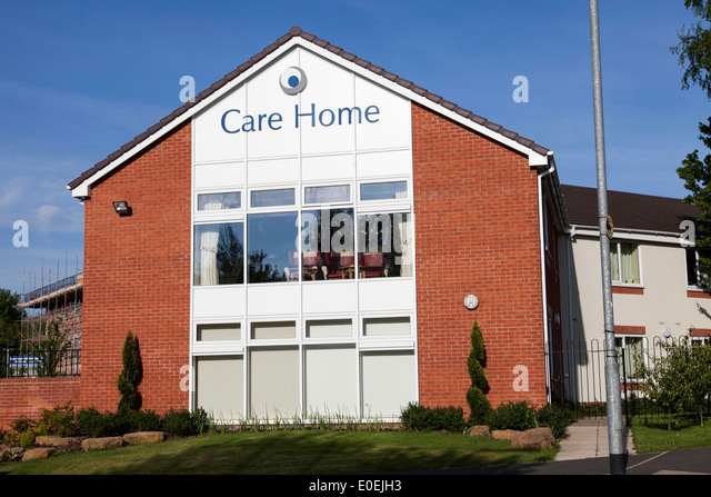 A Residential Care Home In UK City