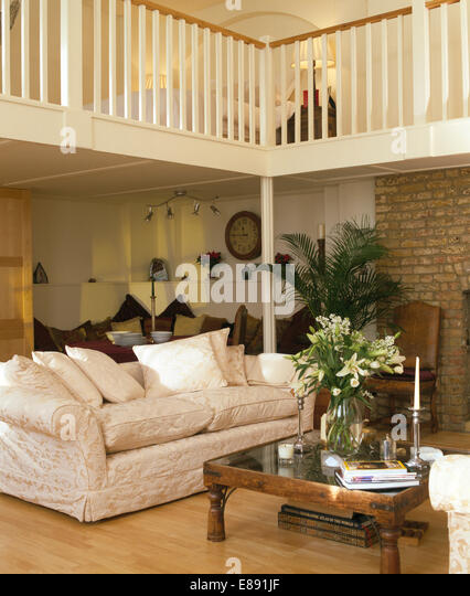 Mezzanine Loft Conversion loft conversion modern uk stock photos & loft conversion modern uk