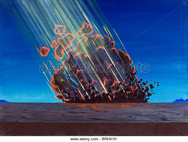 meteorite bombardment and dating of planetary surfaces show