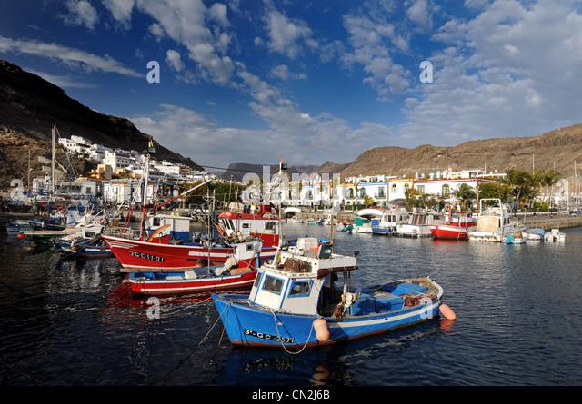 Gran canaria stock photos gran canaria stock images alamy - Puerto mogan gran canaria ...