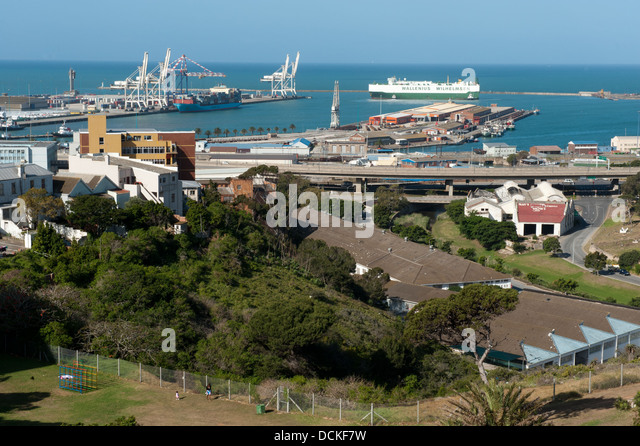 Port elizabeth south africa harbour stock photos port - What to do in port elizabeth south africa ...