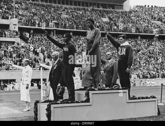 1936 summer olympics black athletes dating
