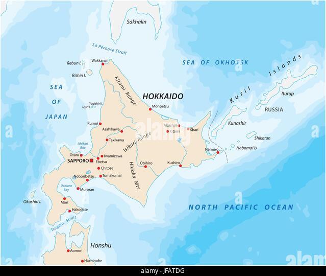 North Of Sakhalin Island Stock Photos & North Of Sakhalin Island ...