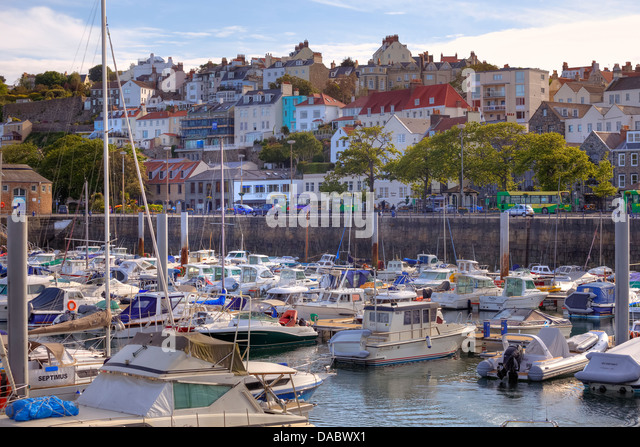 St Peter Port United Kingdom  city pictures gallery : St Peter Port, Guernsey, United Kingdom Stock Image