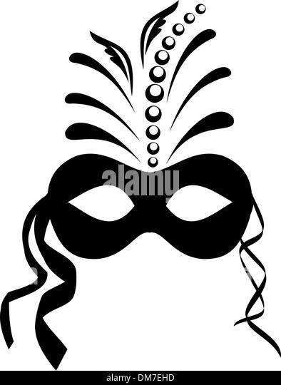 carnaval black and white stock photos images alamy. Black Bedroom Furniture Sets. Home Design Ideas