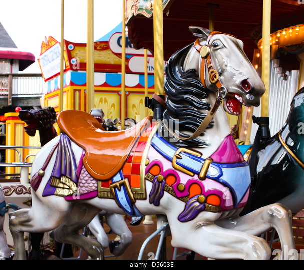 Carousel Horse Stock Photos & Carousel Horse Stock Images